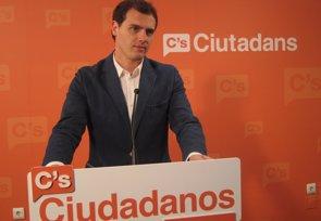 Foto: Albert Rivera, partidario de abrir el debate para legalizar algunas drogas (EUROPA PRESS)