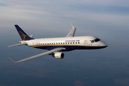 Foto: Embraer entregó 32 aviones hasta marzo (EMBRAER)