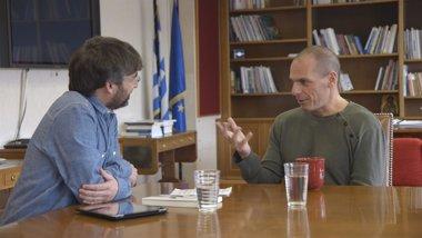 Foto: Salvados: Jordi Évole entrevista a Varoufakis, el ministro griego de moda (LASEXTA)