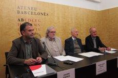 Foto: Ateneus catalans reclamen el patrimoni espoliat durant la Guerra Civil i el franquisme (EUROPA PRESS)
