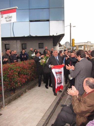 Foto: Tajani pone el caso Tenneco como ejemplo de que es posible luchar contra los cierres de empresas (EUROPA PRESS)