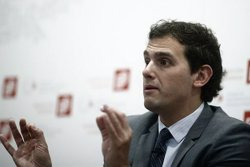 Foto: Rivera tanca la porta a Díez (EUROPAPRESS)