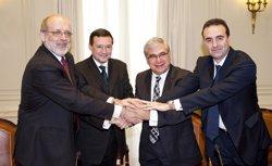 Foto: La Cambra de Barcelona nomena a Ramon Camp cònsol del Consolat de Mar (EUROPA PRESS)