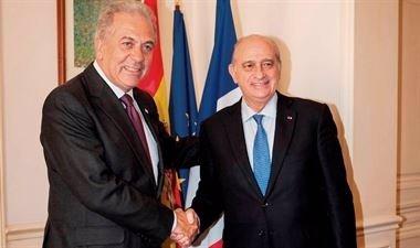 Foto: Aplazada la visita de Fernández Díaz y el comisario de Inmigración (EUROPA PRESS/MINISTERIO DEL INTERIOR)