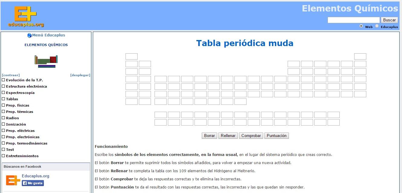 La tabla periodica aqu encontrars una tabla peridica muda con la que debes practicar la escritura de los smbolos de forma correcta y en su lugar especfico urtaz Choice Image