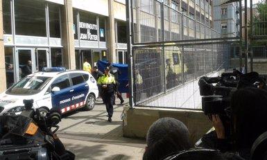 Foto: Un alumne mata un professor a Barcelona (EUROPA PRESS)