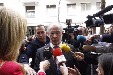 """Foto: Rato assegura que totes les seves empreses """"estan correctament declarades a Hisenda"""" (EUROPA PRESS)"""