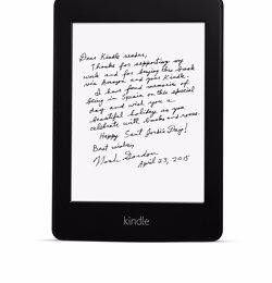 Foto: Sant Jordi.- Amazon promourà la primera firma digital remota amb una vintena d'autors (AMAZON)