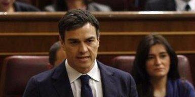 Foto: Pedro Sánchez promete una reducción de los tipos de contratos y un plan contra la precariedad laboral (EUROPA PRESS)