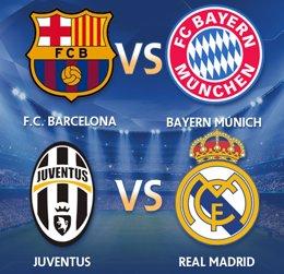 Foto: Sorteo Champions League: Barcelona-Bayern Munich y Juventus-Real Madrid (EUROPA PRESS)