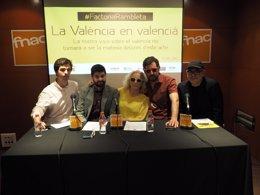 Foto: Actors, empresaris, músics i intel·lectuals reivindicaran la 'València en valencià' (LA RAMBLETA)
