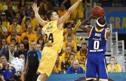 Foto: El 'Granca' se deja medio título en casa (HTTP://WWW.EUROCUPBASKETBALL.COM/)