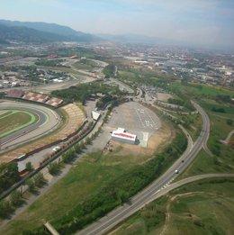 Foto: El helipuerto del Circuit de Catalunya podrá recibir aviación comercial (TERRITORI I SOSTENIBILITAT)