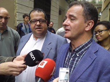 """Foto: Avancem dóna suport a ERC pel projecte """"per Barcelona i de país"""" (EUROPAPRESS)"""