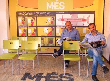 Foto: MÉS propone estudiar la viabilidad de una compañía aérea propia de Baleares (MÉS)
