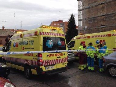 Foto: Tres jóvenes mueren por monóxido de carbono en una casa 'okupa' (EMERGENCIAS 112 COMUNIDAD DE MADRID)