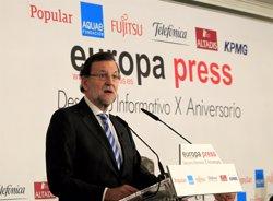 Foto: Rajoy diu que el règim d'incompatibilitats del Congrés ja és dur i demana un debat sense demagògies (EUROPA PRESS)