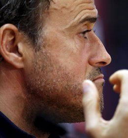 """Foto: Luis Enrique: """"Hay que ir a por lo máximo y a ganar títulos"""" (GUSTAU NACARINO / REUTERS)"""