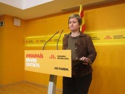 Foto: ERC replica a Rajoy que els catalans i no ell decidiran si el 27S és plebiscitari (EUROPA PRESS)