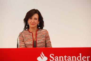 Foto: Banc Santander aconsegueix un benefici de 1.717 milions fins al març, un 32% més (FUENTE)