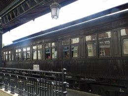 Foto: El Tren de la Fresa a Aranjuez arranca de nuevo el 2 de mayo (MUSEO DEL FERROCARRIL)