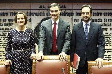 """Foto: Sánchez promet un Estatut dels Treballadors que sigui """"carta de drets"""", no el """"catàleg de precarietat"""" del PP (EUROPA PRESS)"""