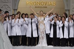 Foto: Fira.- Irina Shayk i Blanca Padilla desfilaran per a Pronovias a Barcelona (PRONOVIAS)