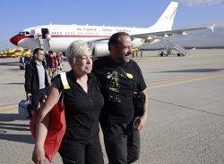Foto: Espanyols repatriats del Nepal s'organitzen per enviar ajuda a les víctimes del terratrèmol (POOL)