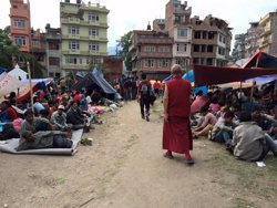 Foto: Ascendeixen a 5.489 els morts pel terratrèmol al Nepal (DANIEL HERRAN)