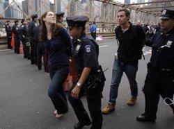 Foto: Més de 60 arrestats a Nova York durant les protestes pel cas de Freddie Gray (EUROPA PRESS)