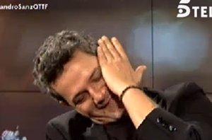 Foto: Alejandro Sanz, un padre muy emocionado con las palabras de su hijo Dylan (TELECINCO)