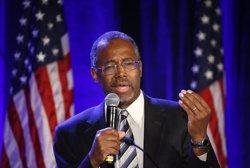 Foto: El metge jubilat Ben Carson anuncia la seva candidatura a la presidència dels EUA (EARNIE GRAFTON / REUTERS)