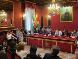 Foto: El rodaje de 'Carlos, rey emperador', desde este martes en Granada (EUROPA PRESS)
