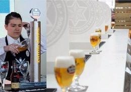Foto: 'Alimentaria' acoge el Campeonato de Tiraje de Cerveza de Castilla y León (ESTRELLA GALICIA)