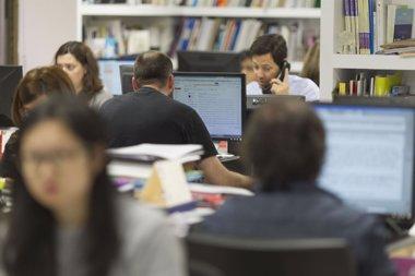Foto: El paro cae en Canarias en 22.770 personas en un año y sitúa en 254.016 el número de desempleados (EUROPA PRESS)