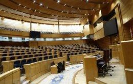Foto: El Senado paga un millón de euros en viajes de sus señorías desde noviembre (EUROPA PRESS)