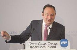 """Foto: Sanz: """"El que quiera que se quede, y el que no, que se marche"""" de DOC Rioja (DIAZ URIEL)"""