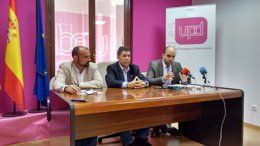 """Foto: UPyD señala en Lardero un Ayuntamiento """"hipotecado"""" (UPYD)"""