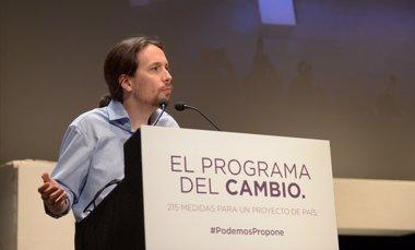 Foto: Podemos propone más impuestos, paralizar desahucios y quitas en hipotecas (PODEMOS)