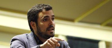 Foto: Alberto Garzón apoyará este miércoles la candidatura de García Montero (EUROPA PRESS)