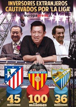 Foto: Inversores extranjeros cautivados por 'La Liga'   La Champions de la inversión (EUROPA PRESS)