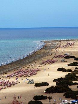 Foto: Canarias es la sexta autonomía que más contribuye a la presencia global de España (CEDIDA POR AYUNTAMIENTO DE SAN BARTOLOMÉ DE TIRAJA)