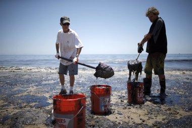 Foto: Galería: Las imágenes que deja el vertido de crudo en California (LUCY NICHOLSON / REUTERS)