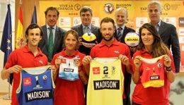 Foto: El Madison Beach Volley Tour estrenará sedes en Barcelona y Valencia (CSD)