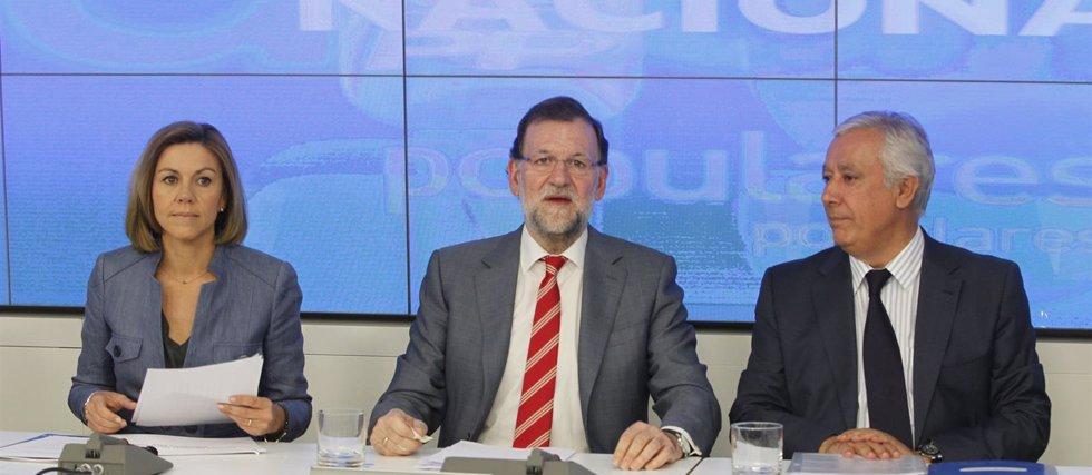 """Foto: Rajoy hace autocrítica: """"Tenemos que ser más próximos, cercanos y comunicar más con los españoles"""" (EUROPA PRESS)"""