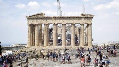 Foto: Grecia vota en un referéndum con el futuro de la zona euro en duda (MILOS BICANSKI/GETTY)