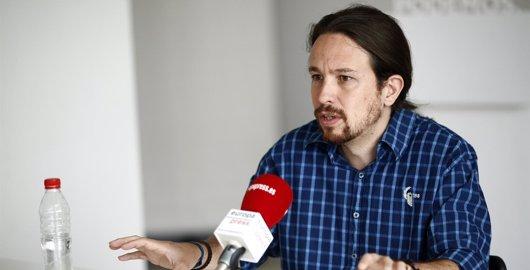Foto: Iglesias aseguró en julio que no sería vicepresidente de Sánchez ni entraría en un gobierno que no presidiese (EUROPA PRESS)