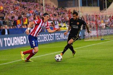 Foto: El Atlético confirma el retorno de Filipe Luis (EUROPA PRESS)