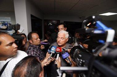 Foto: Llaman a juicio a  los directores de seguridad del expresidente panameño por espionaje (PRESIDENCIA DE PANAMÁ)
