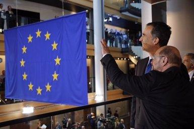 """Felip VI insta la UE a tenir una Espanya """"unida i orgullosa de la seva diversitat"""" (TWITTER DE LA CASA REAL)"""